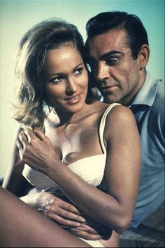 "Sean Connery as James Bond 007 in ""Dr. Sean Connery James Bond, James Bond Girls, James Bond Movies, Casino Royale, Classic Hollywood, Old Hollywood, George Lazenby, Ursula Andress, Haha"