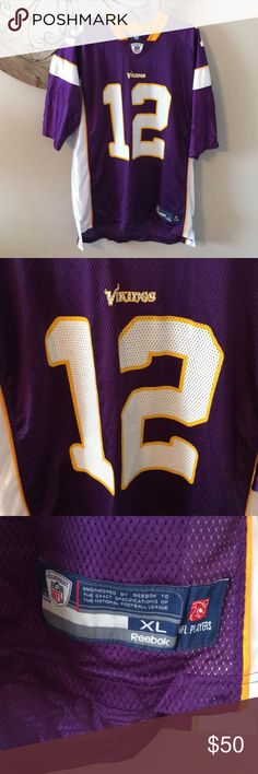 Minnesota Vikings Percy Harvin Jersey Reebok Minnesota Vikings Percy Harvin  jersey is in excellent condition. 7c81cd790
