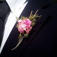 Groom's boutonniere  by #apajarita  #groomsboutonierre #groom #groomdetails #weddingdetails