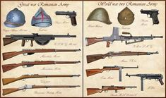 - Romanian Weapons by on DeviantArt Ww2 Weapons, Military Weapons, Eastern Front Ww2, Light Machine Gun, Italian Army, Bolt Action Rifle, Montenegro, French Army, Military Diorama