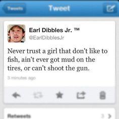 Earl Dibbles Jr even though guns scare me a little bit.