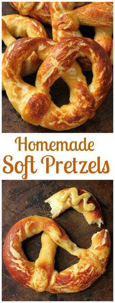 Soft Pretzels Perfect Soft Pretzels - Soft and chewy homemade pretzels! These are a fun weekend project!Perfect Soft Pretzels - Soft and chewy homemade pretzels! These are a fun weekend project! Baking Recipes, Dessert Recipes, Homemade Soft Pretzels, Pretzels Recipe, Yummy Food, Tasty, Snacks, Diy Food, Love Food