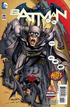 DC Comics - Batman #49 (New 52) - Neal Adams Variant Cover