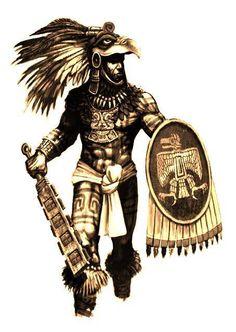 Azteca warrior