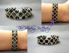 Claddagh Tila Peanut Reversible Bracelet Tutorial - Personal Use Only   BeadingButterfly - Patterns on ArtFire