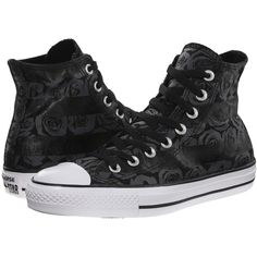 Converse Chuck Taylor All Star Rose Print Hi Women's Lace up casual... (1.155 CZK) ❤ liked on Polyvore featuring shoes, sneakers, grey, grey sneakers, lace up shoes, gray shoes, grey shoes and metallic shoes