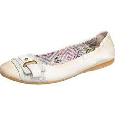 Die Mjus Ballerinas bestehen im Obermaterial aus echtem Leder, das sehr flexibel ist und daher für einen hohen Tragekomfort sorgt. Auch die gepolsterte, lederne Decksohle trägt zu einem angenehmen Fußgefühl bei.