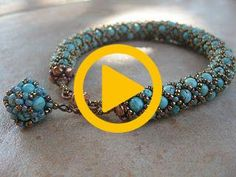 Ildiko & # s treasure chest: Bracelets Treasure Chest, Way To Make Money, Extra Money, Jewerly, Diy And Crafts, Jewelry Bracelets, Beads, Youtube, Beautiful
