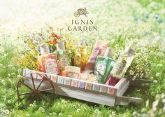 5つの香りをラインアップした、ギフト提案型ボディケアブランド「イグニス ガーデン」デビュー | BRAND TOPICS | BEAUTY | WWD JAPAN.COM