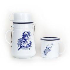 'CURSED' MUG AND TEA CAN SET