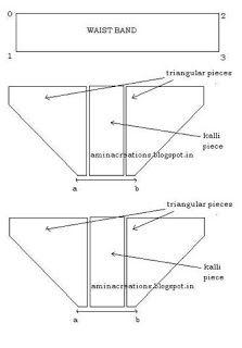 basic cuts for a harem pant