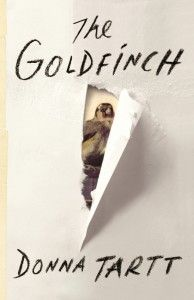 """http://blogs.independent.co.uk/2013/03/29/friday-book-design-blog-the-goldfinch-by-donna-tartt/ - Like Donna Tartt's previous novels """"The Secret History"""" and """"The Little Friend,"""" """"The Goldfinch"""" is built around an enormous mystery while at the same time exploring the deepest moral and philosophical questions. The cover suggests a central moment in the story, which I can't give away here!"""