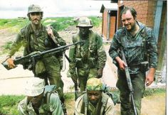 Rhodesian Selous Scouts. No matter what is said about Rhodesia, they were a fucking elite military unit