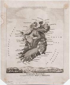 carte satire map caricature 15 Cartes satiriques à travers l'histoire  information histoire featured carte information