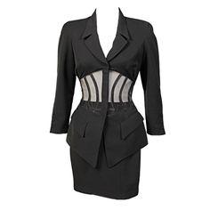 1stdibs | Thierry Mugler Corset Suit
