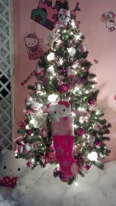 Hello Kitty Christmas tree- Kraynaks
