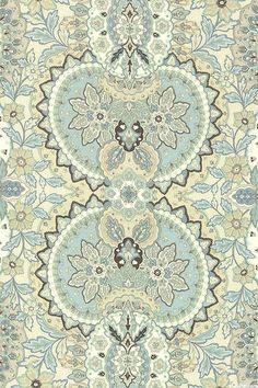 Gatsby's Flora - Garden Symmetry - Quilt Fabrics from www.eQuilter.com