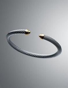 David Yurman Cable Classics Bracelet.