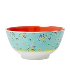 Melamine schaaltje Mint Flowers RICE