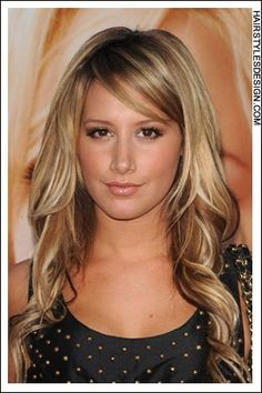 Brown hair with blonde highlights. Thinking about doing this!
