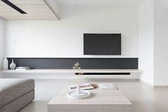 70 Awesome Modern Minimalist Living Room Ideas - Page 3 of 77 Modern Minimalist Living Room, Minimalist Furniture, Living Room Modern, Home Living Room, Living Room Furniture, Living Room Designs, Minimalist Interior, Small Living, Minimalist Room Design