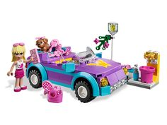 Cruise in style with Stephanie's Cool Convertible!