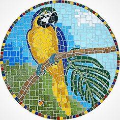 Mosaic Animals, Mosaic Birds, Mosaic Wall Art, Mosaic Tray, Mosaic Glass, Stained Glass Designs, Mosaic Designs, Mosaic Patterns, Mosaic Art Projects