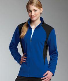 Charles River Apparel 5077 Women's Hexsport Bonded Jacket #womensjacket #womensapparel #womensactivewear