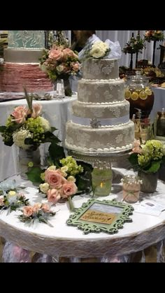Price Chopper Booth At The Perfect Wedding Guide Bridal Show Cake Done By Mell Liberty Location