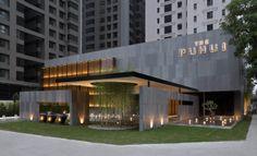 30 Ideas for exterior design hotel facades Building Exterior, Building Facade, Building Design, Entrance Design, Facade Design, Exterior Design, Commercial Architecture, Facade Architecture, Design Hotel