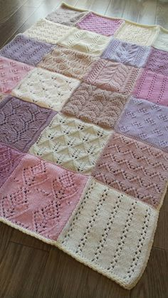 Free Childrens Knitting Patterns, Sewing Patterns, Baby Afghan Crochet, Afghan Crochet Patterns, Knitting Stitches, Baby Knitting, Crochet Books, Knitted Blankets, Crochet Projects