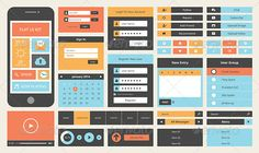 flat_design_web_mobile_app_user_interface_set_vector_icons_trendy_color_form_elements_preview.jpg 590×351 pixels