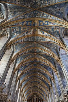 St. Cecile Cathedral in Albi, France.