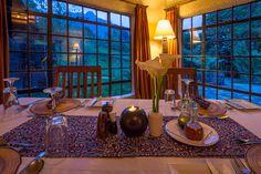 Sabyinyo Silverback Lodge Dining. Photo courtesy of Dana Allen