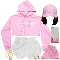 The PinkPrint by oh-aurora on Polyvore featuring Fendi, David Yurman, Zoë Chicco, Elizabeth and James and October's Very Own