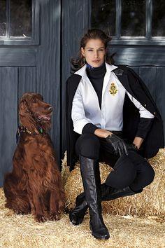 """ Lauren Ralph Lauren Fall 2012 "" Highlights of equestrian styles and accessories from the Lauren Ralph Lauren Fall 2012 collection. Explore Now"