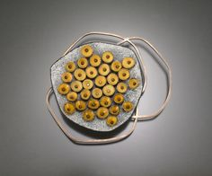 honey    brooch - enamel on copper, sterling silver  Danielle Embry