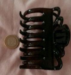 Haarspange groß braun
