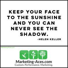 Dwell on the bright side of things. * * * * * #reputationmanagement #onlinereputationmanagement #emailmarketing #videomarketing #youtubeadvertising #sunshine