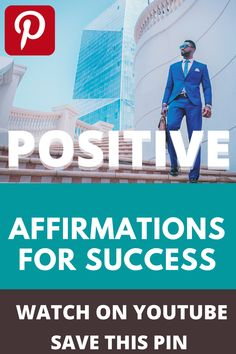 Success comes when your mind is filled with fully #positive vibes. Try these Affirmations that can #Change your life dramatically Success comes with these #Tips. Use this trick to make Success. #Success #Tips #Tricks #Affirmations