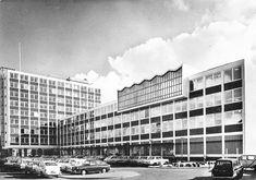 Holland, 1970s, Multi Story Building, The Nederlands, The Netherlands, Netherlands