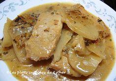 Stir Fry Recipes, Mets, Fries, Pork, Chicken, Esther, Pig Kitchen, Sliced Potatoes, Pork Chops