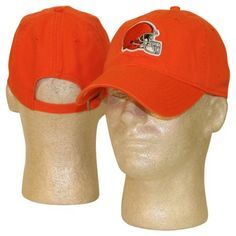1652307e85549 NFL Classic Team Colors Adjustable Slouch Hats - Cleveland Browns Orange by  NFL.  12.95.
