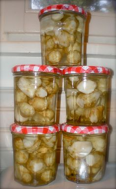 Jerusalem artichoke pickles
