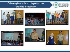 Orientações sobre o ingresso no Exército Brasileiro