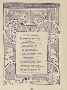 Fables de Florian illustrees par Benjamin Rabier, 1936 (L'Enfant et le Miroir) by peacay, via Flickr