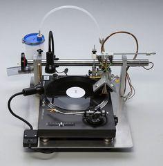 VinylRecorder : après les graveurs de CD, DVD et Blu-ray voici l'enregistreur de disque vinyle