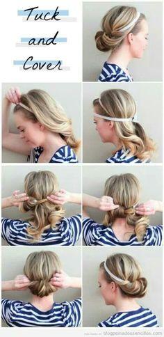 Un peinado sencillo para triunfar