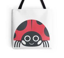 Ladybug Emoji Tote Bag