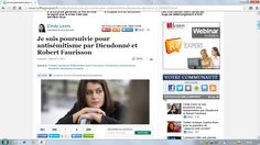 DIEUDONNE MBALA MBALA. Justice: l'incroyable falsification de SOS racisme et Cindy Leoni